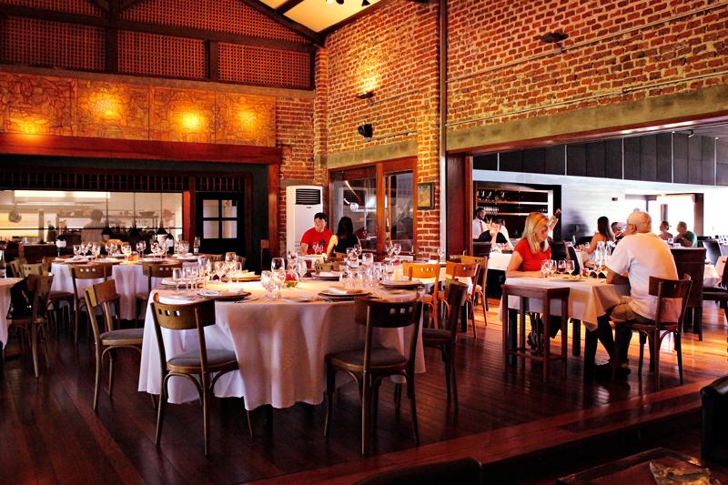 Restaurante da Bodega Bouza em Montevideo