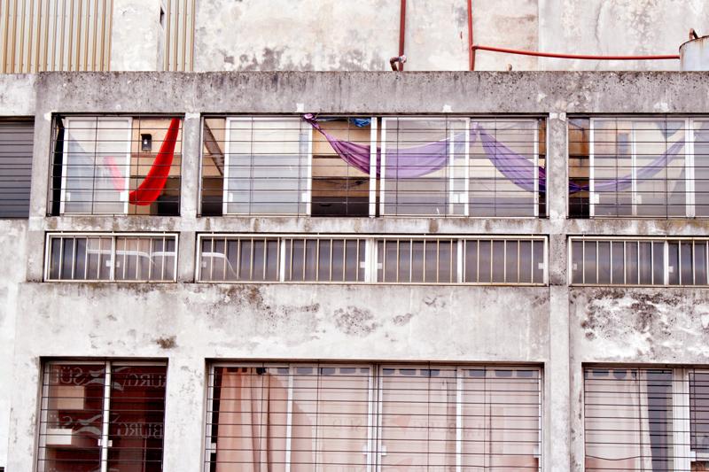 Prédio abandonado no centro de Montevideo