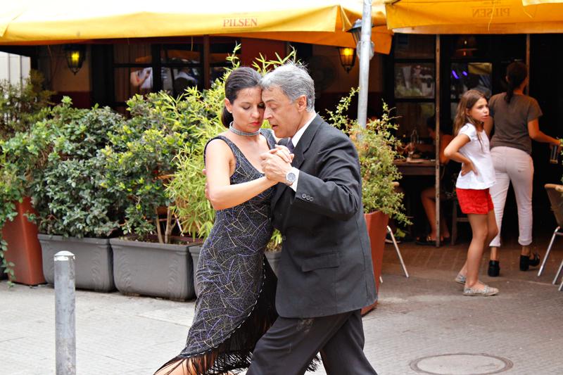 Tango na rua de Montevideo