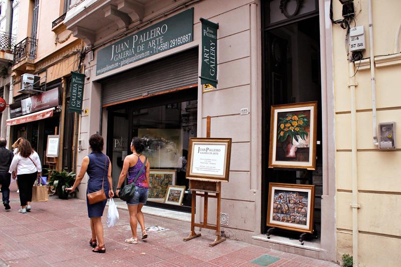 Juan Palleiro Galeria de Arte em Montevideo