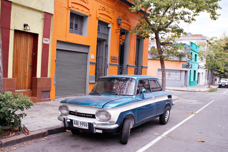 Carro antigo de Montevideo
