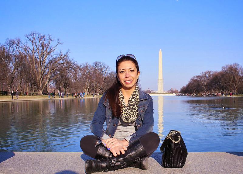 Washington DC e o Obelisco Washington Monument ao fundo