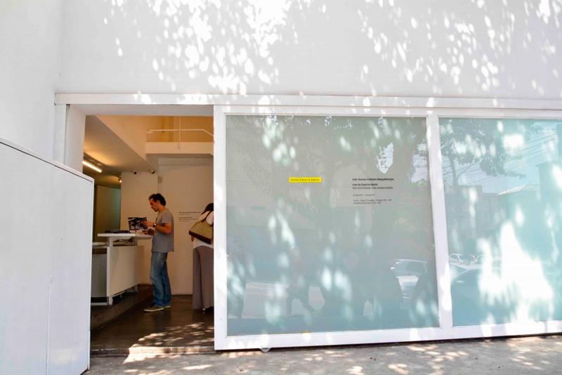 Fachada da Galeria Fortes D'Aloia & Gabriel de arte contemporânea na Vila Madalena em São Paulo