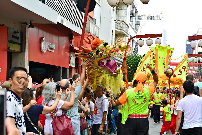 Ano Novo Chinês, Bairro da Liberdade, São Paulo, Brasil, América do Sul