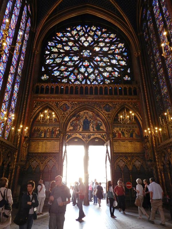 Sainte Chapelle em Paris na França