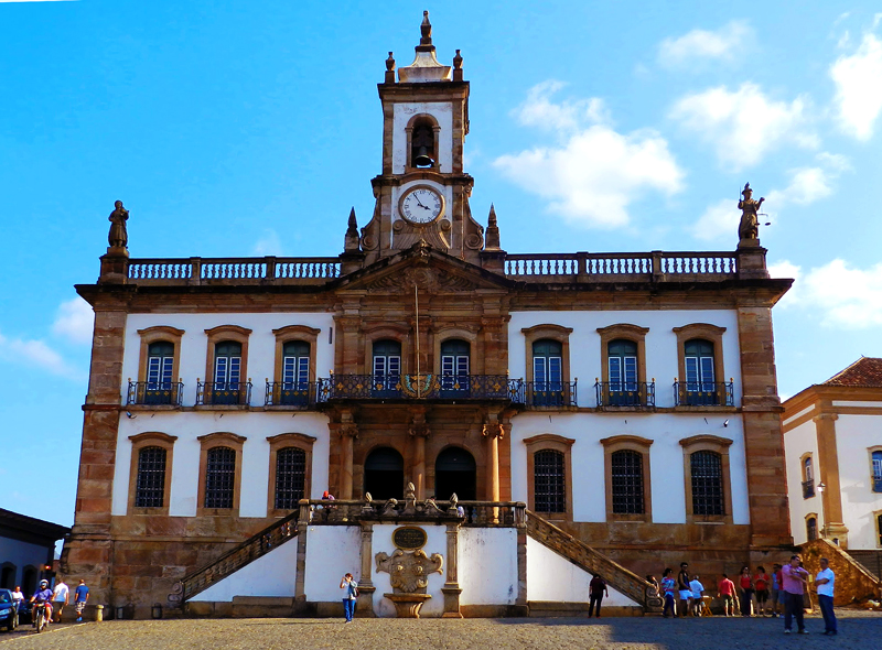 Fachada do Museu da Inconfidência em Ouro Preto