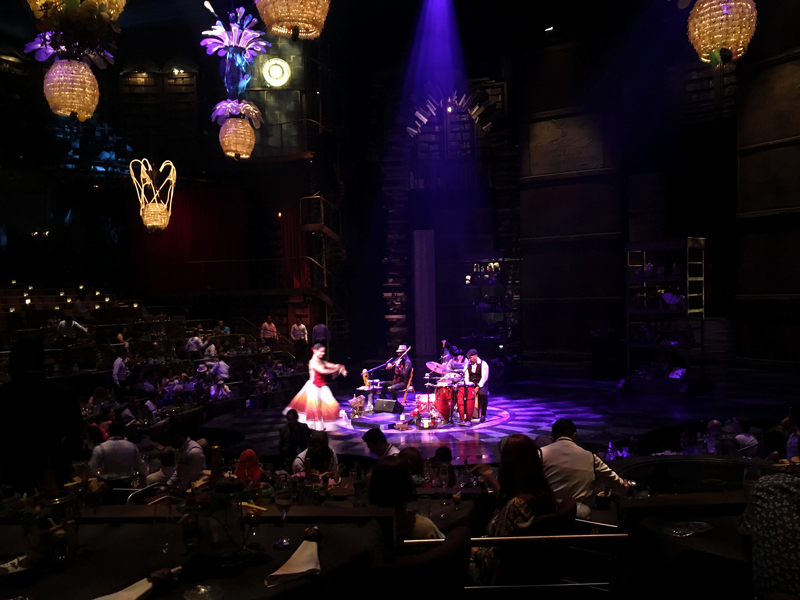 Apresentação do Cirque du Soleil do Hotel Vidanta em Playa del Carmen