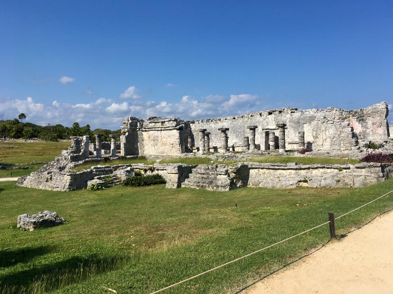 Ruínas arqueológicas de Chichen Itzá em Yucatán Mexico