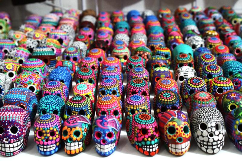 Souvenires em Isla Mujeres no México