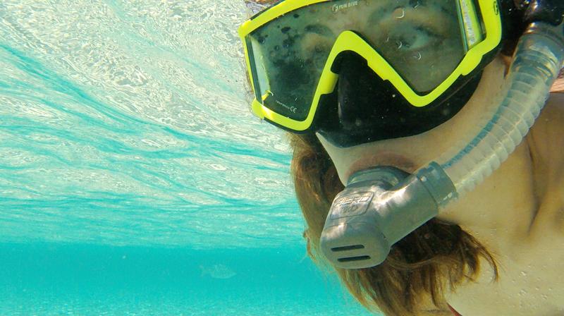 Mergulho na Isla Mujeres no Mexico
