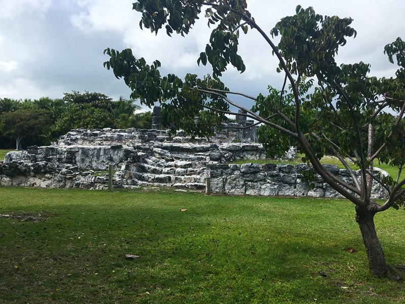 Ruínas de Cobá no Mexico
