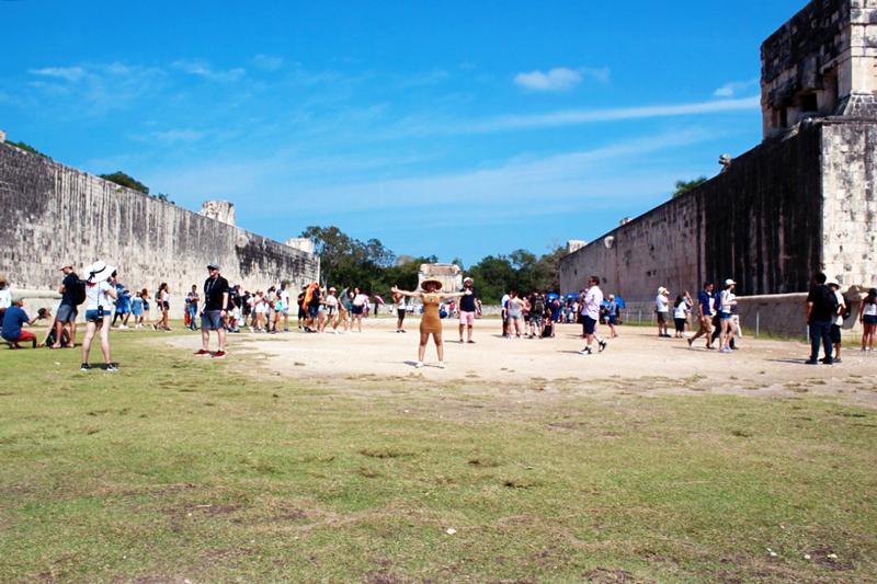 Local de jogos de Chichen Itzá no México
