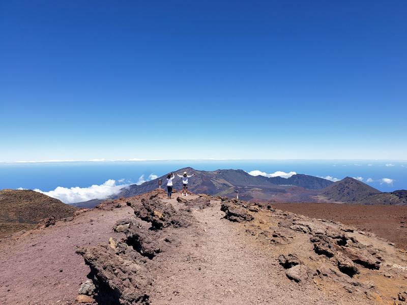 Haleakalā National Park em Maui no Hawaii