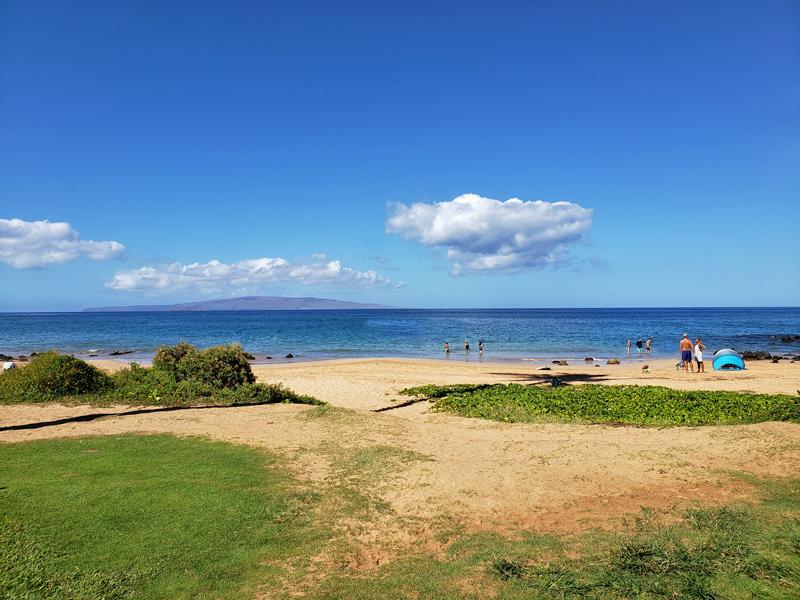 Keawakapu Beach em Maui no Hawaii