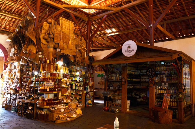 Mercado Municipal final de semana em Cunha