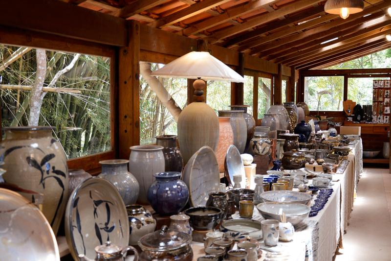 Cerâmicas da Suenaga e Jardineiro final de semana em Cunha