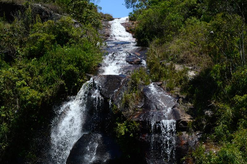 Cachoeira do Mato Limpo em Cunha