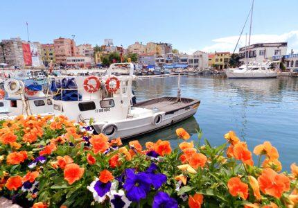 Porto de Galipoli na Turquia