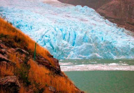 Glaciar Balmaceda no Campo de Hielo Sur