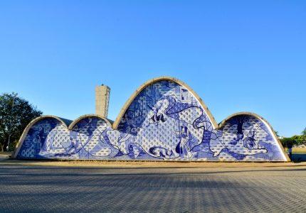 Capela Curial de São Francisco de Assis, Belo Horizonte, Minas Gerais, Brasil, Oscar Niemeyer, Lagoa da Pampulha, Pampulha