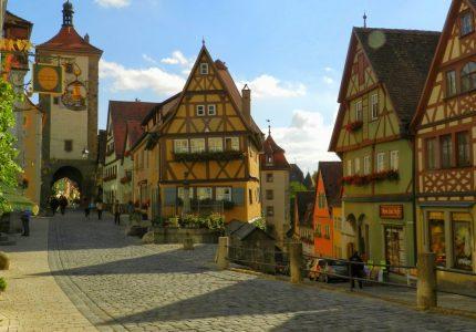 Rothenburg Ob Der Tauber, Alemanha, Germany, Deutschland