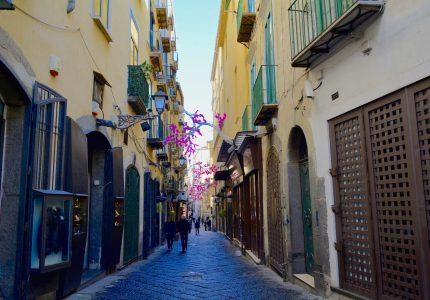 Campania, Salerno, Italia, Italy, Centro Storico, Centro Histórico