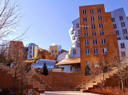 prédio de Frank Gehry para o MIT Boston