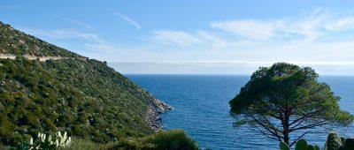 estrada, Sardegna, Italia - Sardenha