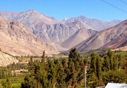 Valle de Elqui no Chile