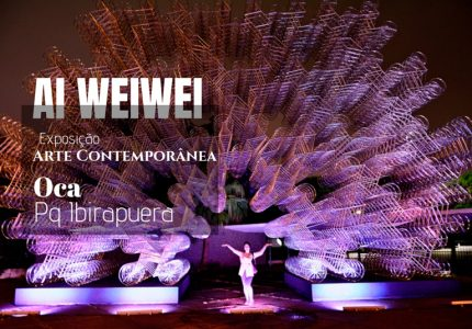 Exposição Raízes de Ai Weiwei na OCA do Parque do Ibirapuera