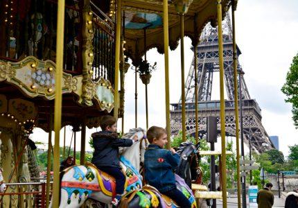 Carroussel du Trocadero, Paris, France