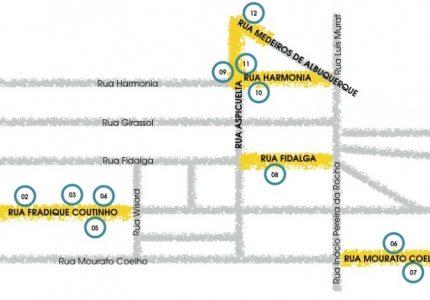 O Mapa das Galerias de Arte na Vila Madalena