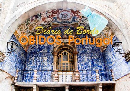 A vila medieval de Obidos, Portugal, Europa